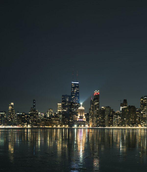 Chicago night photography