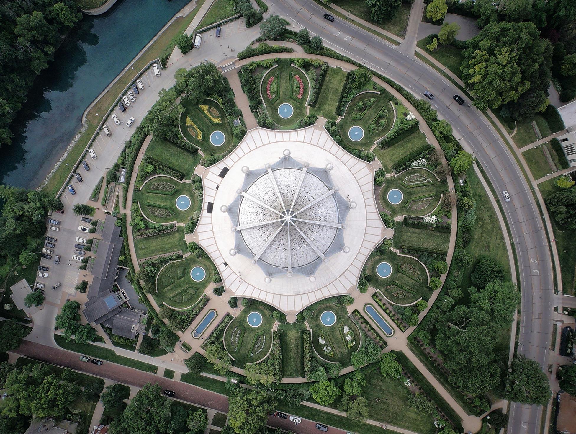Bahai Temple in Evanston