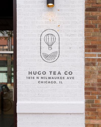 Hugo Tea shop in Chciago